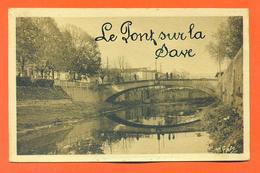 """CPA L'isle En Dodon """" Le Pont Sur La Save """" LJCP 31 - France"""