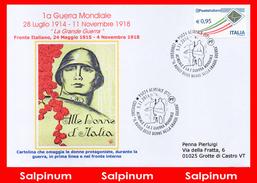 ANNULLO CONVEGNO IL RUOLO DELLE DONNE NELLA GRANDE GUERRA - 6. 1946-.. República