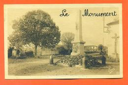 "CPA L'isle En Dodon "" Le Monument "" LJCP 31 - France"