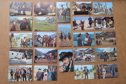 Winnetou Film  23 Chromo's Lex Barker Stewart Granger Pierre Brice Eikon Verlag Rialto Constantin Film - Other Collections