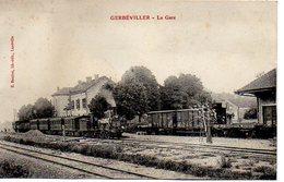 54 - GERBEVILLER - La Gare - Non Classés