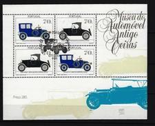 PORTUGAL Block Automobilmuseum 1992 Gestempelt - Blocks & Kleinbögen