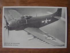 AVION Aviation Vliegtuig Luchtvaart Plane : DOUGLAS AD SKYRAIDER Attack Bomber US Navy - 1939-1945: 2ème Guerre