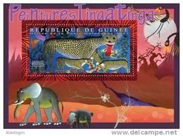 GUINEA 2011 - Tingatinga Paintings - YT BF1310, Mi Bl.2003