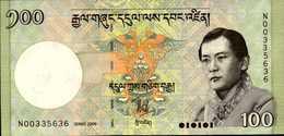 BHOUTAN 100 NGULTRUM De 2006   Pick 32a  UNC/NEUF - Bhoutan