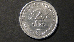 Croatia - 1993 - 2 Lipe - KM 4 - VF - Look Scans - Kroatien