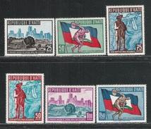 REPUBLIQUE D' HAITI - 1959: 6 Valori Nuovi S.t.l. - 3° GIOCHI PANAMERICANI A CHIGAGO - In Ottime Condizioni. - Giochi Olimpici
