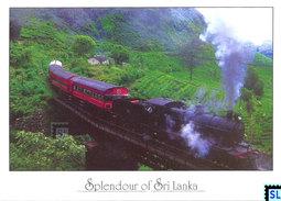 Sri Lanka Postcards, Train, Hill Country, Postcard - Sri Lanka (Ceylon)