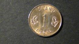 Iceland - 1953 - 1 Aurar - KM 8 - F - Look Scans - Island