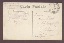 Franchise Militaire Service Santé  * 10eme Corps D'Armée Hôpital Complémentaire N° 102 Trégastel  * 1915 Côtes-d'Armor