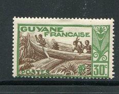 GUYANE- Y&T N°158- Neuf Avec Charnière * - Unused Stamps