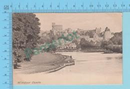 London England- Windsor Castle, Vintage Ancienne   - 2 Scans