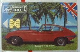 SPAIN - Chip - 100 Units - Jaguar E Type - P-081 - 08/94 - 4000ex - Mint Blister