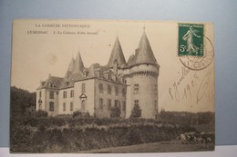 LUBERSAC   --- Le Chateau ( Coté  Levant ) - Other Municipalities