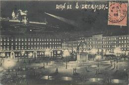 69 LYON Fête Des Lumières 8 Décembre 1905    2 Scans - Sonstige