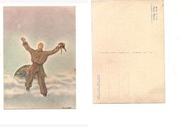 166 AVIAZIONE AERONAUTICA 1941 CARD MAK 100 CORSO URANO ACCADEMIA