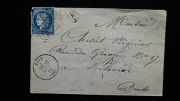 Enveloppe - GC 3148 Sur 25c Cérès - Année 1872 - 1849-1876: Classic Period