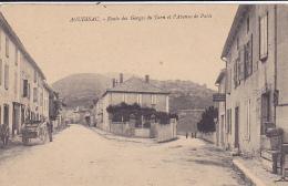 Cpa-12-aguessac -route Des Gorges Avenue De Paris- - Other Municipalities