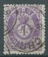 NORVEGE  - Yvert N° 19  Oblitéré   EN 1873  -  Cw 22415 - Oblitérés