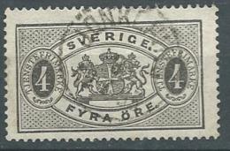 Suede Service - Yvert N° 2 A Oblitéré  - Cw 224 32 - Service