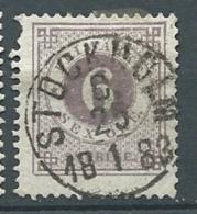 Suede  - Yvert N° 18 A   Oblitéré 1 Dent Courte Oblitéré Stockolm En 1883  - Cw 224 34 - Suède
