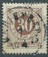 Suede  - Yvert N° 23 B   Oblitéré 1 Dent Courte Oblitéré  En 1873  - Cw 224 35 - Suède