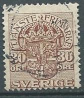 Suede    Service - Yvert N° 28   Oblitéré  - Cw 224 38