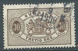 Suede    Service - Yvert N° 9 A   Oblitéré  - Cw 224 39 - Service
