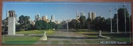Cartolina Doppia MELBOURNE - Non Viaggiata - (809) - Melbourne