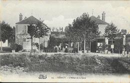 Héricy (Seine-et-Marne) - L'Hôtel De La Gare (Hôtel De Famille) - Carte Salamandre Non Circulée - Hotels & Restaurants
