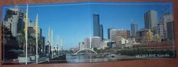 Cartolina Doppia MELBOURNE - Non Viaggiata - (810) - Melbourne