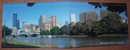 Cartolina Doppia MELBOURNE - Non Viaggiata - (812) - Melbourne