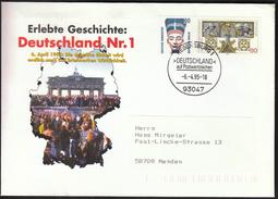 Germany Regensburg 1995 / Germany On Postage Stamps / Deutschland Auf Postwertzeichen - Philately & Coins