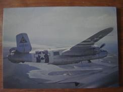 AVION Aviation Vliegtuig Luchtvaart Plane : After The Battle : NORTH AMERICAN B-25D MITCHELL ( Bomber Bombardier ) - 1939-1945: 2ème Guerre