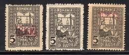 ROUMANIE - LOT DE TIMBRES 8 ET 18 OCC ALLEMANDE /236 / - 1881-1918: Charles Ier
