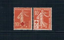 SERIE FRANCE NEUVE* TBE N° 146/7 1914