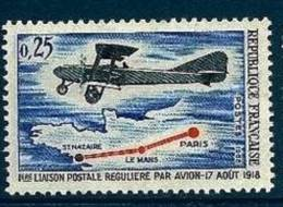 "FR YT 1565 "" Liaison Postale "" 1968 Neuf** - Unused Stamps"