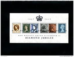 GREAT BRITAIN - 2012  DIAMOND JUBILEE  MS  MINT NH