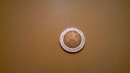 MONETA 500 LIRE COMMEMORATIVA POLIZIA DI STATO 1997 SPL/QFDC - 500 Lire
