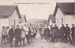CPA Camp De Sathonay - Ain - Allée Centrale - Poste Militaire - 2e Zouaves Depot De Sathonay - 1917 (27372) - Lyon