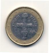 1  EURO -  Corso Legale CIPRO  - Anno 2009. - Cipro