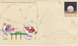 Australia Postal Stationary 1994 World Veterans Table Tennis Championships Melbourne - Mint (T7A5)