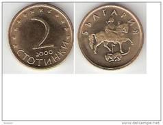 *Bulgaria 2 Stotinki  2000 Km 238  UNC !!!!!!! - Bulgarien