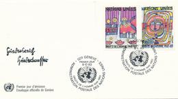 GENF  - 10 Belege Aus 1973 - 1984 - Genf - Büro Der Vereinten Nationen