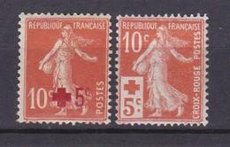 A France N° 146 + 147 ** à 10% De La Côte !!!