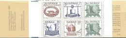 SUECIA 1985 - ANTIGUOS EMBLEMAS DE TIENDAS - YVERT Nº 1324-1328**  BOOKLET
