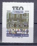 Italien '130 J. Zeitung Il Secolo XIX, Radfahrer' / Italy '130th Ann. Of Newspaper Il Secolo XIX, Cyclist' **/MNH 2016
