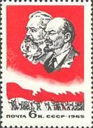USSR, 1965 SK № 3117 MINISTERIAL MEETING OF THE SOCIALIST COUNTRIES SODRZHESTVA (V.LENIN. Marx)