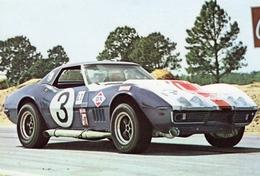 12 Heures Du Sebring 1964  -  Chevrolet Corvette Grand Sport -  Pilote: Henri Greder  -  Carte Postale - Le Mans