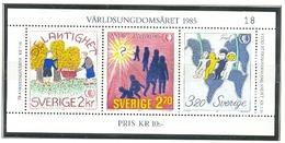 SUECIA 1985 - AÑO INTERNACIONAL DE LA JUVENTUD - YVERT Nº 1333-1335**